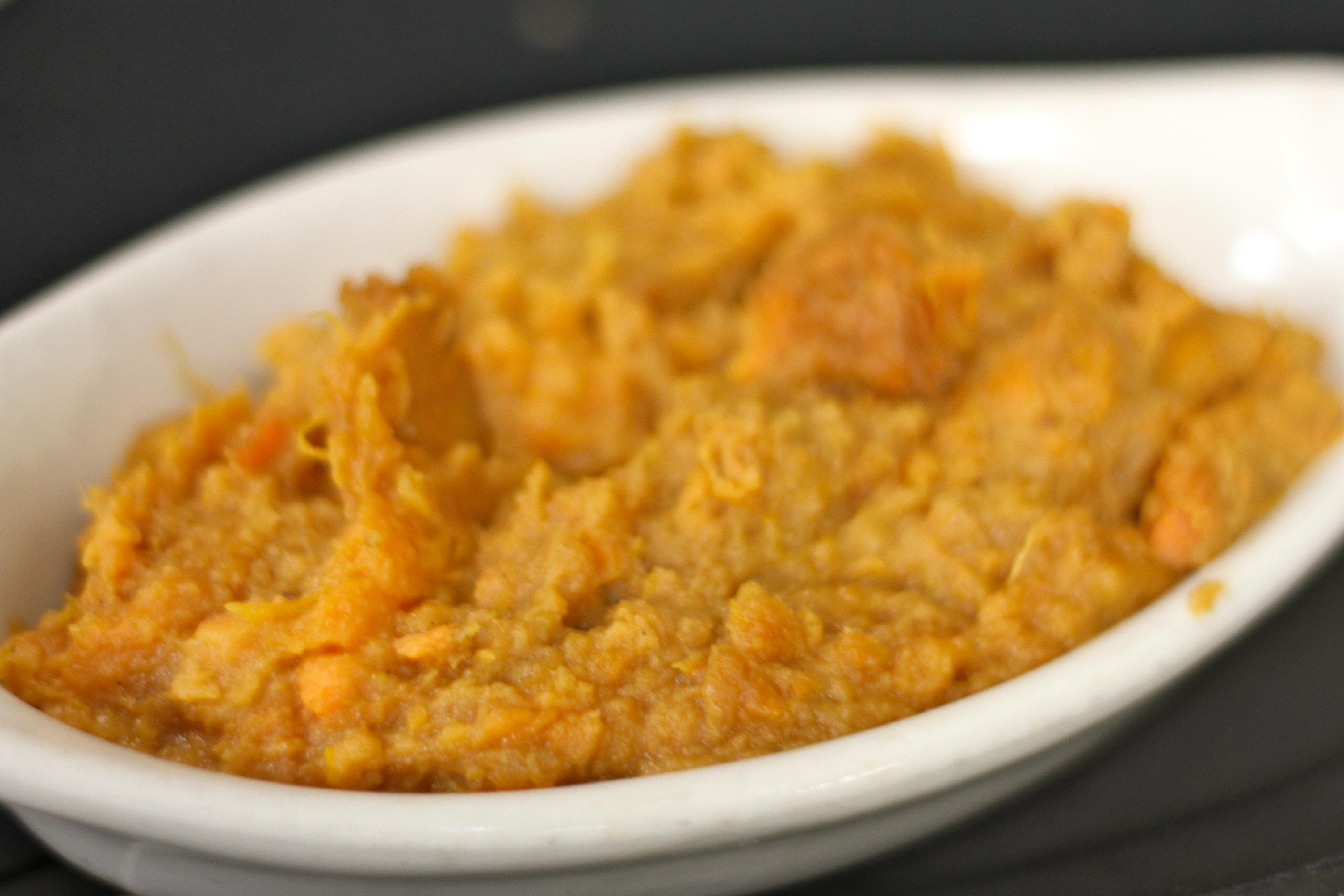 Bourbon Mashed Sweet Potatoes Recipe — Dishmaps