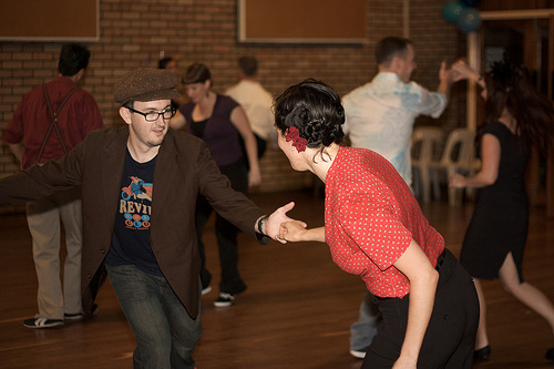 swing dancing new orleans