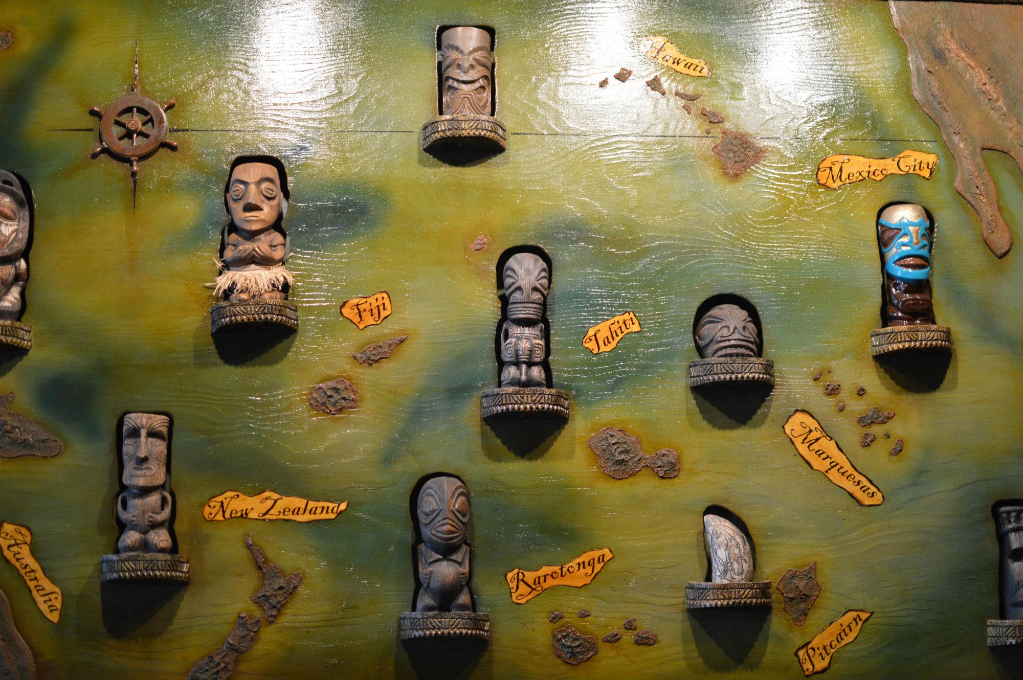 Tiki Wall