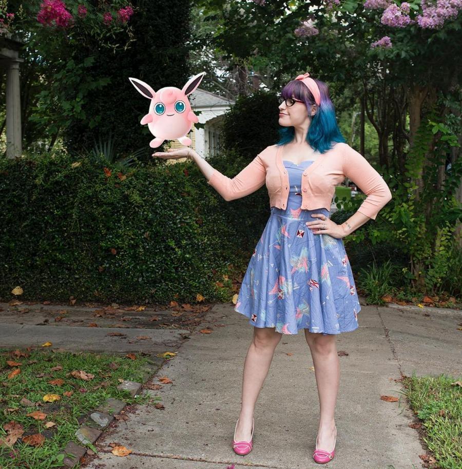 A Jigglypuff-approved dress at Trashy Diva. (Photo via Trashy Diva on Instagram)