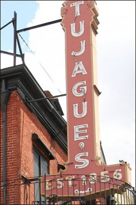 Tujague's restaurant and bar in the French Quarter