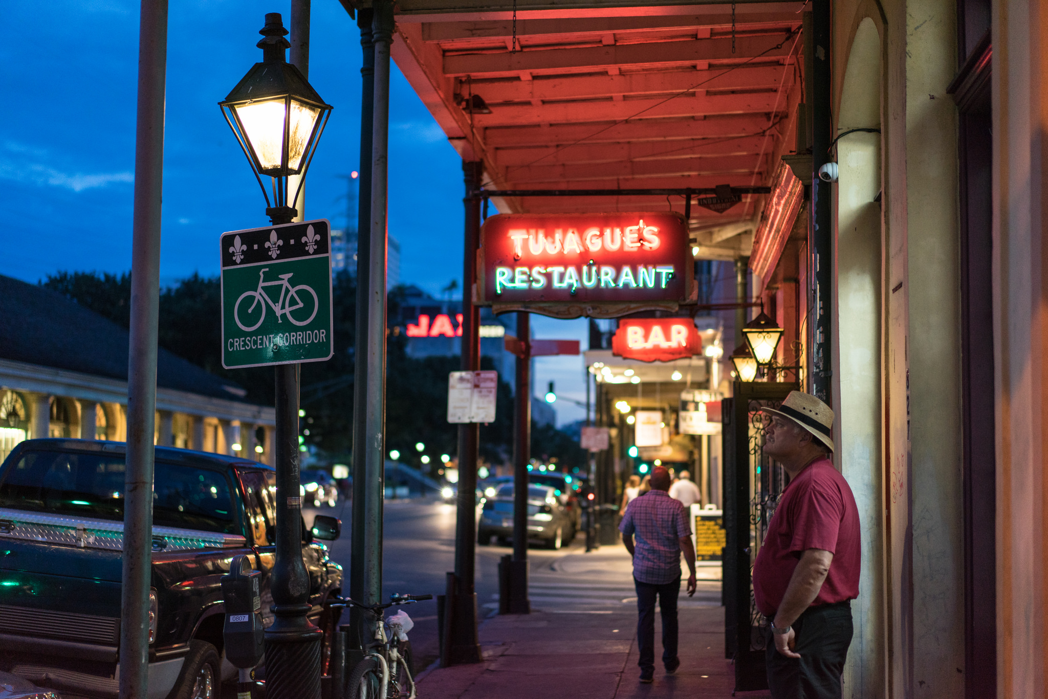 Tujague's in the French Quarter will be open on Thanksgiving. (Photo: Paul Broussard)